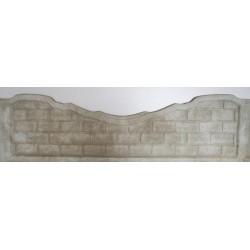 Placa gard beton presat - P4