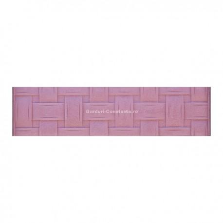 Placa gard beton turnat - M2.2