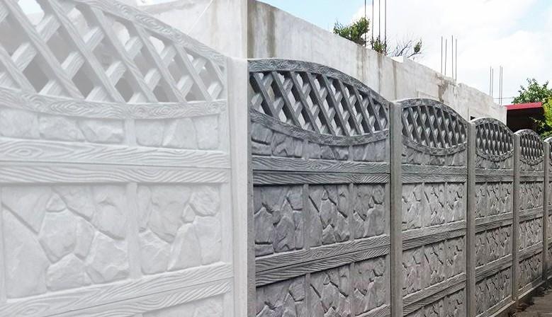 garduri turnate din beton